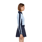 Long Sleeve Melody Stripe Sleeve Cardigan Side Cut