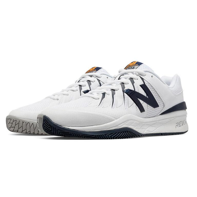 New Balance 1006 Men's Tennis Shoe - White/Black