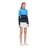 Alternate View 1 of Berthe Long Sleeve Block Stripe Sweater