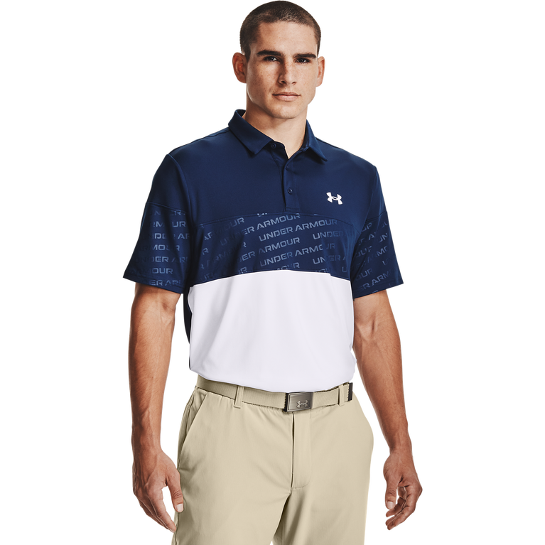 Playoff 2.0 Blocked Polo