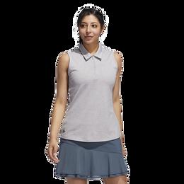 Legacy Sleeveless Jacquard Polo Shirt
