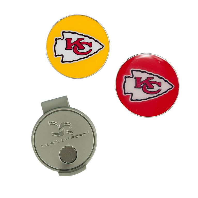 Team Effort Kansas City Chiefs Hat Clip & Ball Marker