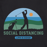 Alternate View 1 of Social Distancing Golf Landscape Crusher Tee