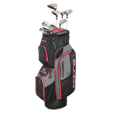 XL Speed 13-Piece Black/Pink Women's Complete Set