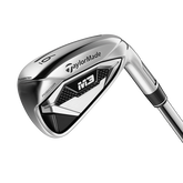 TaylorMade M3 4-PW, AW Iron Set w/ Steel Shafts