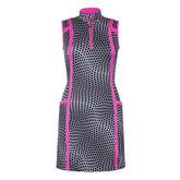 Tail Gwen Dress - Hexa Print