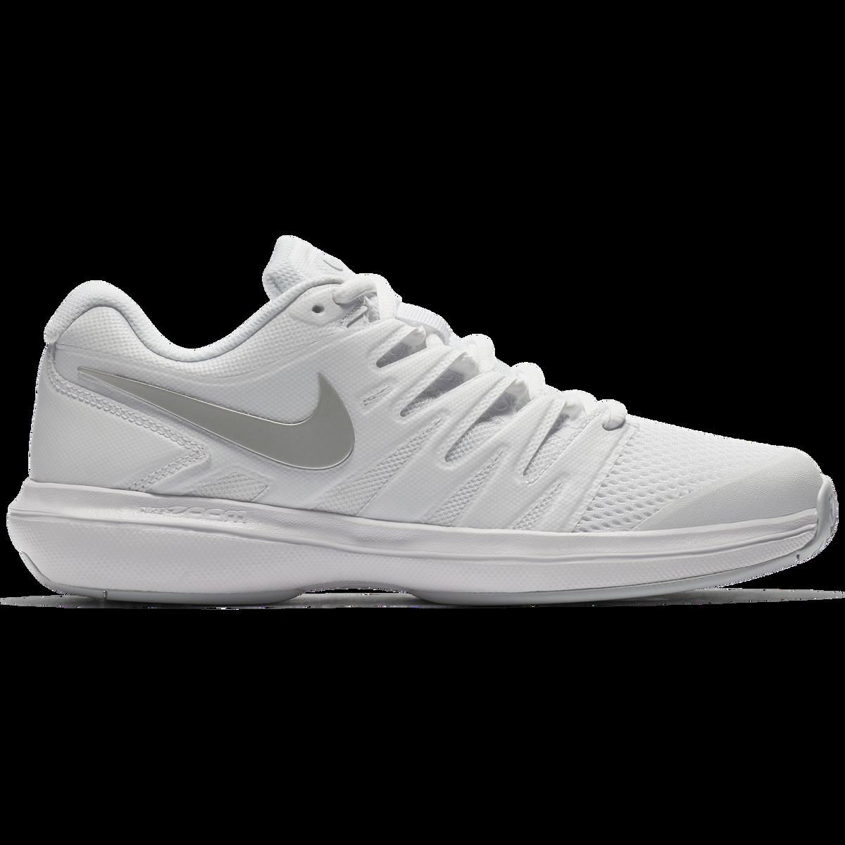 acaaca79471b Nike Air Zoom Prestige Women s Tennis Shoe - White Silver