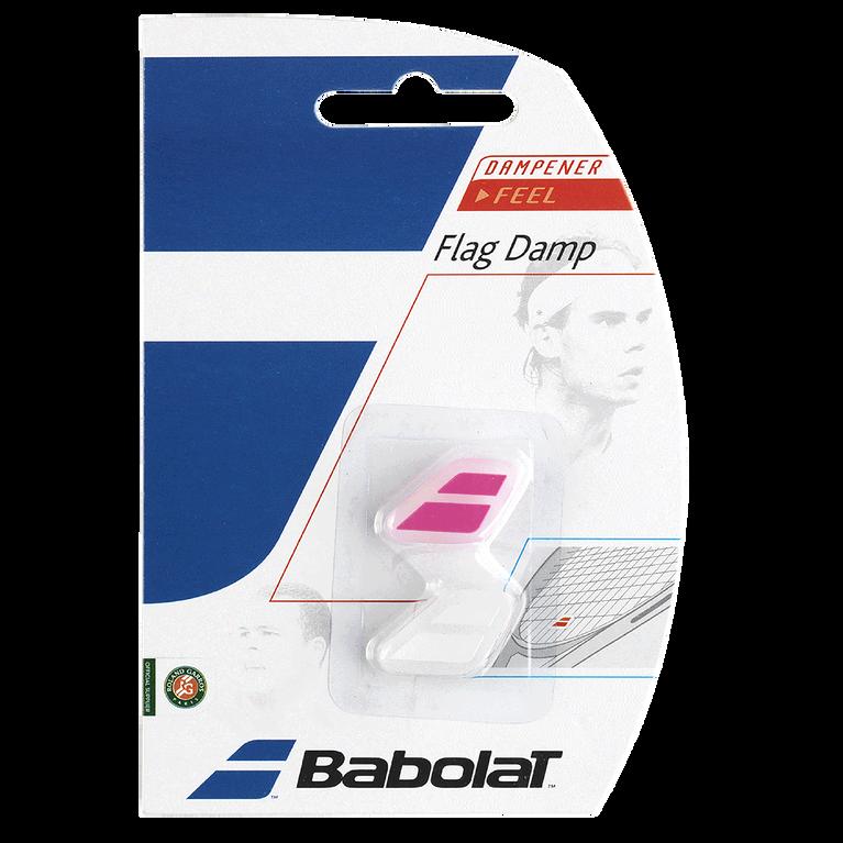 Flag Damp - White/Pink