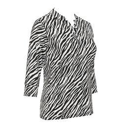 Rockport Group: Zebie 3/4 Sleeve Zebra Print Top
