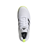 Alternate View 7 of Court Control Tennis Shoes - White/Black