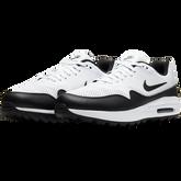 Alternate View 4 of Air Max 1 G Men's Golf Shoe - White/Black