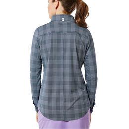 Keystone Long Sleeve Check Print Top