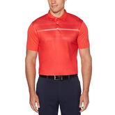 Asymmetrical Heritage Short Sleeve Polo Golf Shirt