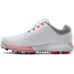 HOVR Drive Clarino Women's Golf Shoe - White/Silver