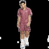 Alternate View 1 of NikeCourt Dri-FIT Victory Men's Printed Short Sleeve Tennis Top