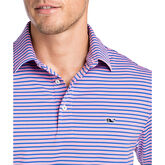Vineyard Vines Three-Color Trad-Stripe Polo