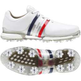 32c0ba26c39ed4 ... adidas TOUR 360 Boost 2.0 USA Men  39 s Golf Shoes - Red