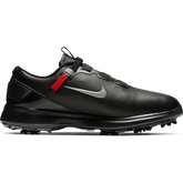 Alternate View 1 of TW71 FastFit Men's Golf Shoe - Black/Silver