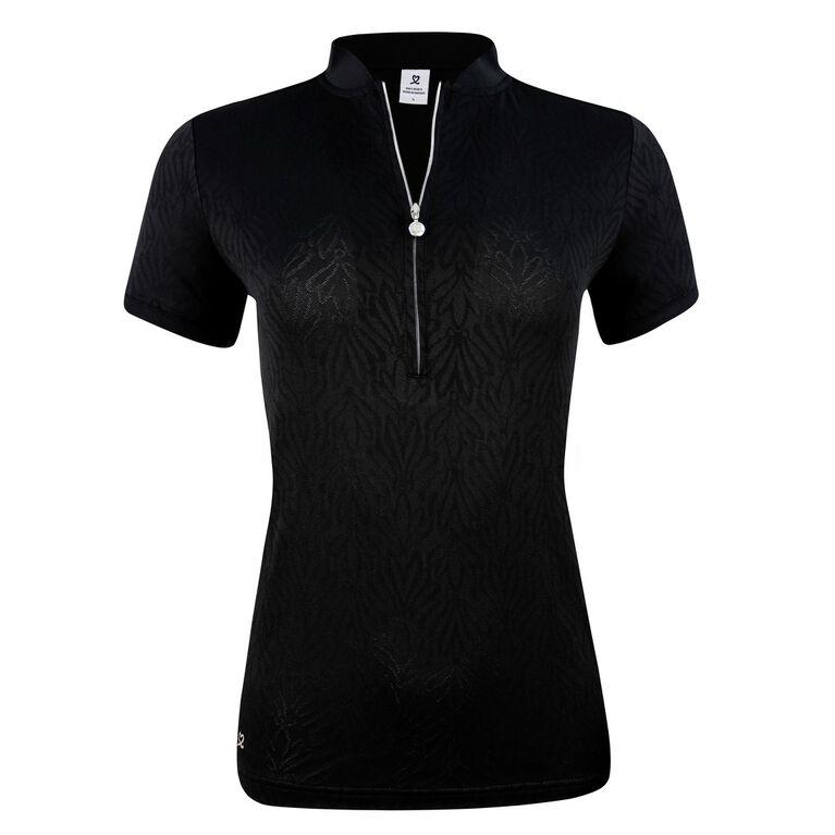 Linn Short Sleeve Jacquard Polo Shirt