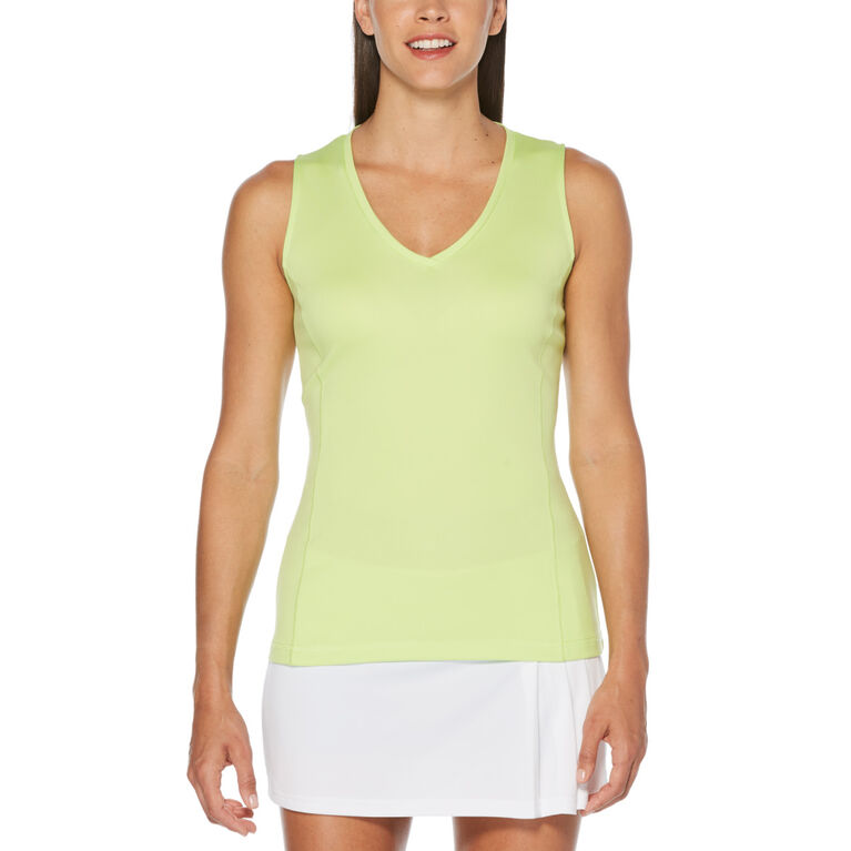 Core Knit V-Neck Tank