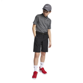 Boys Control Stripe Polo