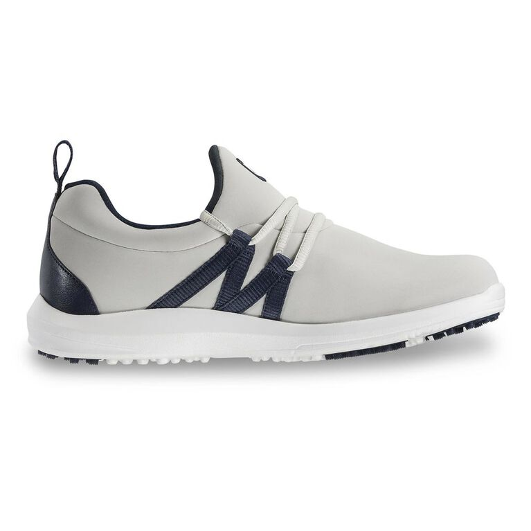 FootJoy Leisure Slip On Women's Golf Shoe - Grey/Navy