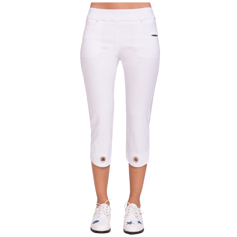 Fiji Collection: Mid Capri Pull on Bottoms