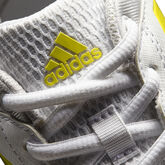 adidas Barricade Court 2 Women's Tennis Shoe - White/Yellow