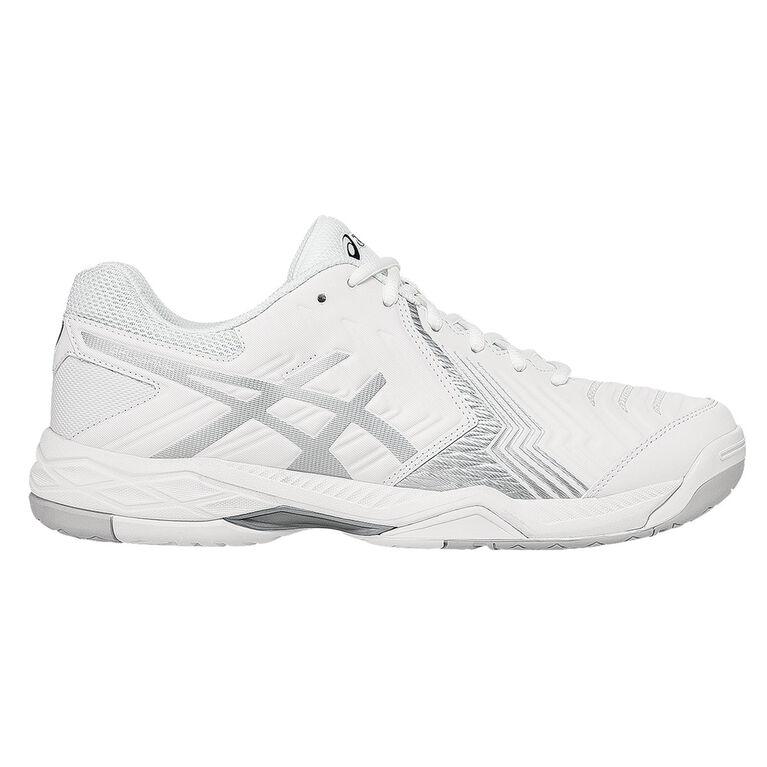 Asics GEL-Game 6 Men's Tennis Shoe - White/Silver