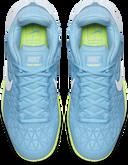 Nike Zoom Cage 2 Women's Tennis Shoe - Light Blue/White