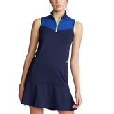 Alternate View 5 of Sleeveless Colorblock Golf Dress
