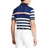 Alternate View 1 of Custom Slim Fit Tech Piqué Polo Shirt