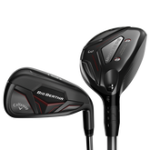 Callaway Big Bertha 4, 5, 6-Hybrid, 7-PW, AW Combo Set w/ UST Recoil ESX 460 Graphite Shafts