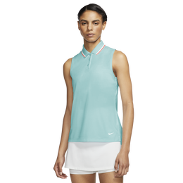 Dri-Fit Victory Women's Sleeveless Tipped Golf Polo
