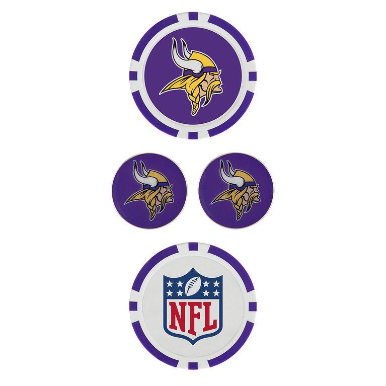 Team Effort Minnesota Vikings Ball Marker Set