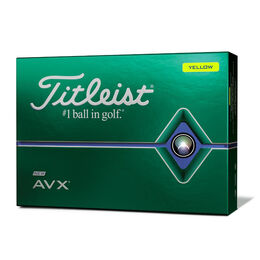 AVX Yellow Golf Balls - Personalized