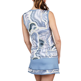 Alternate View 1 of Bluemoon Collection: Marble Print Tennis Tank Top