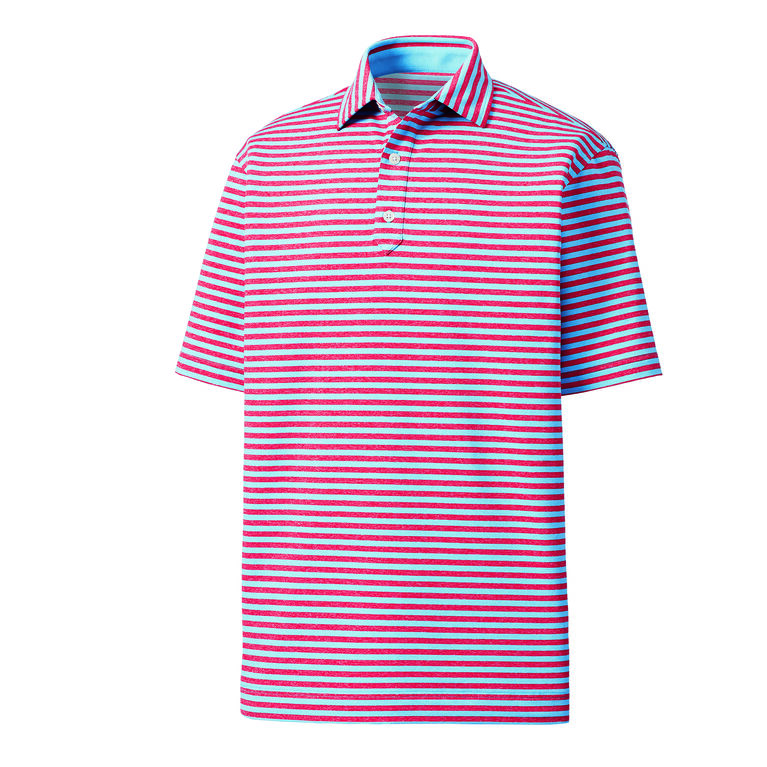 Heather Lisle Stripe Self Collar