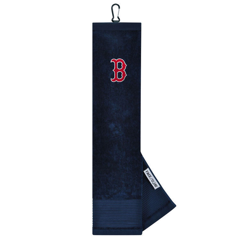 Team Effort Boston Red Sox Tri-fold Embroidered Towel