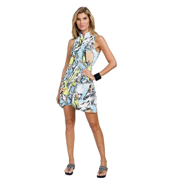 Pacifica Group: Printed Tsunami Dress