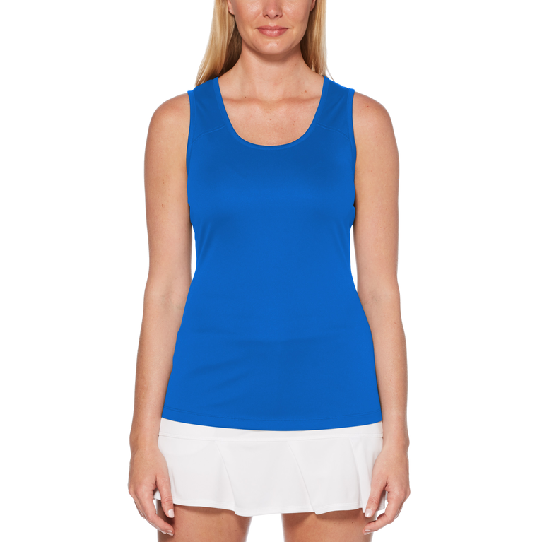 Blue Fireworks Collection: Keyhole Tank Top