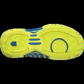 K-Swiss Hypercourt Express Junior's Tennis Shoe - Blue/Yellow