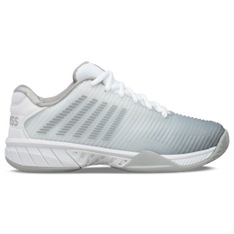 Hypercourt Express 2 Women's Tennis Shoe - White/Silver