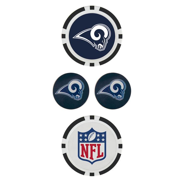 Team Effort Los Angeles Rams Ball Marker Set