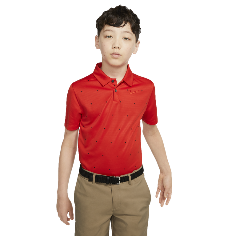 Dri-FIT Boys' Triangle Printed Golf Polo