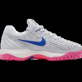 Alternate View 1 of Zoom Cage 3 Women's Tennis Shoe - Grey/Pink