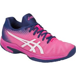 Asics Solution Speed FF Women's Tennis Shoe - Pink/Blue