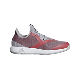 adizero Defiant Bounce Women's Tennis Shoe - Red/Grey