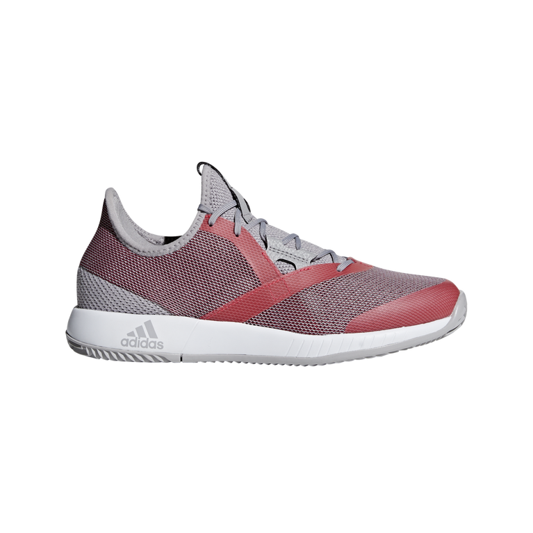 adizero Defiant Bounce Women's Tennis Shoe - Red/Grey