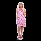 Alternate View 1 of St. Regis Sleeveless Coral Print Dress